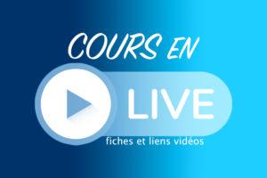 COURS EN LIGNE OU EN DIRECT-VIDEO